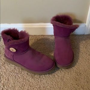 ~NEVER USED~ UGG Pink Ankle Boots